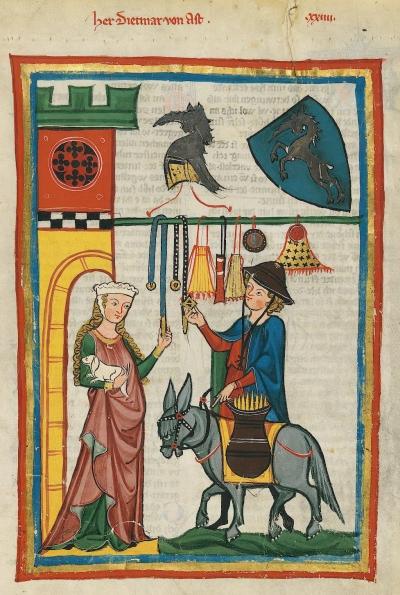 Dietmar von Aist (Codex Manesse)