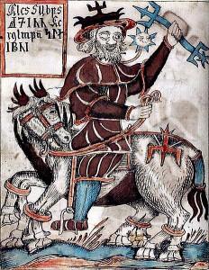 Odin auf Sleipnir