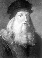 560. Geburtstag von Leonardo da Vinci