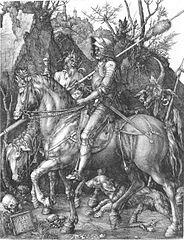 Ritter, Tod und Teufel von Albrecht Dürer