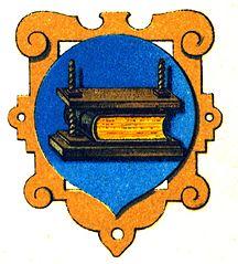 Zunftwappen der Buchbinder