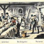 Lohgerber um 1880