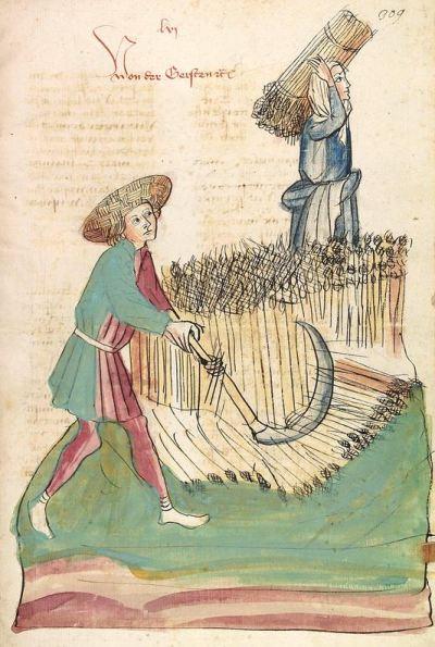 Die Bauern im Mittelalter