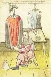 Schneider um 1446 - Nürnberger Hausbücher - Amb. 317.2° Folio 67 verso (Mendel I) (Quelle: Quelle: http://www.nuernberger-hausbuecher.de)