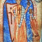 Mittelalterliches Gemälde der Belagerung Jerusalems durch die Kreuzfahrer 1099