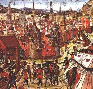 Friedrich I. Barbarossa als Kreuzfahrer