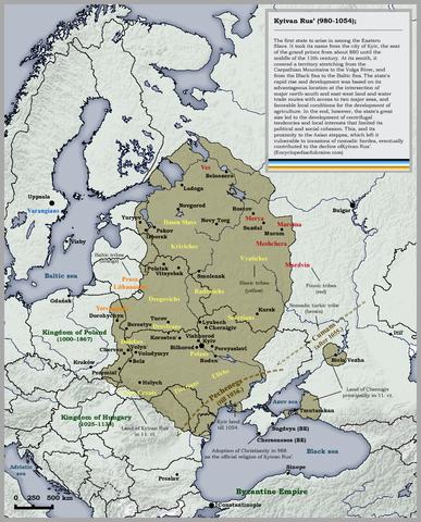 Die Söhne Swjatoslaws I. von Kiew