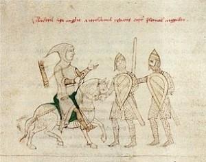 Richard Löwenherz wird gefangen genommen (um 1196) (Quelle: Wikimedia)