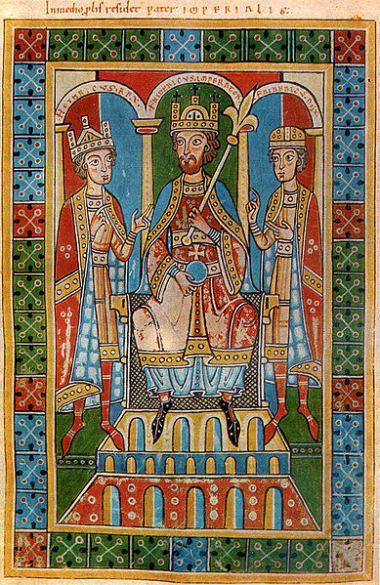 Friedrich I. Barbarossa und seine Söhne - Welfenchronik