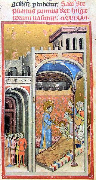 Geburt des Hl. Stephan von Ungarn