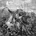Alexander Newski im Kampf gegen die Schweden