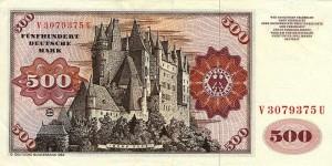 Burg Eltz - 500 DM Schein