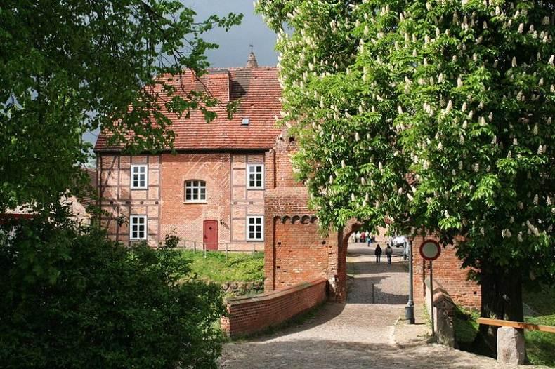 Burg Stargard - Haupttor