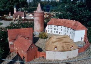 Burg Stargard - Modell
