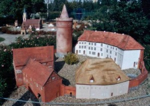 Burg Stargard - Modell (Quelle: Wikipedia)