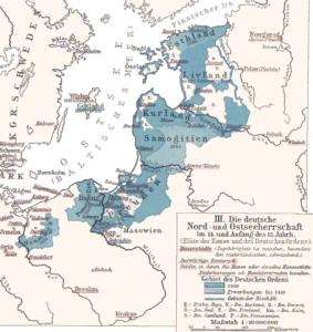 Der Deutschordensstaat, Preußen, die Fürstbistümer und die übrigen Staaten in Livland 1410