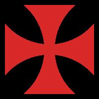 Tatzenkreuz der Templer (Quelle: Wikimedia)