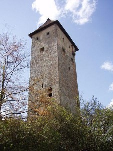 Burg Veldenstein - Nordostecke