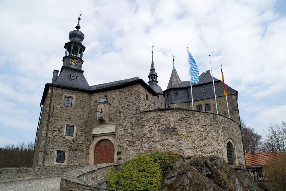 Ludwigsstadt - Burg Lauenstein