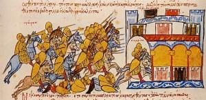 Magyaren verfolgen Bulgaren