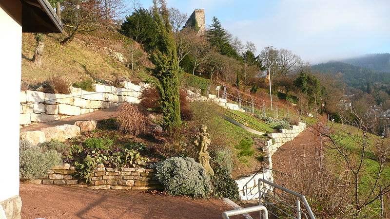 Burg Baden - Hildegard von Bingen-Garten