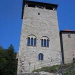 Burg Normannstein - Viereckturm