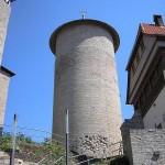 Burg Normannstein - Rundturm