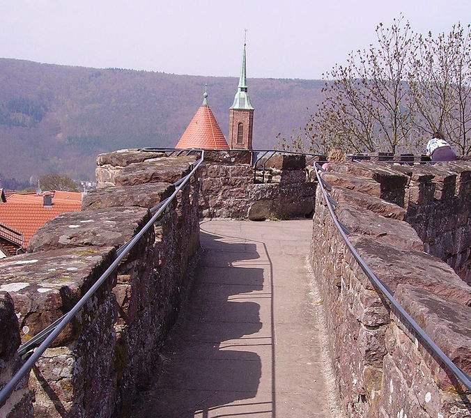 Mauerkranz Dilsberg