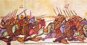 Simeon schlägt die Byzantiner bei Anchilaos