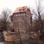 Wenzelschloss - Bergfried an der Westseite