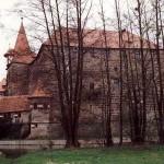 Wenzelschloss - Palas an der Ostseite