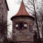 Wenzelschloss - Rundturm an der Ostseite
