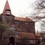Wenzelschloss - Tor an der Südseite