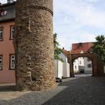 Burg Rockenberg - frei stehender Rundturm