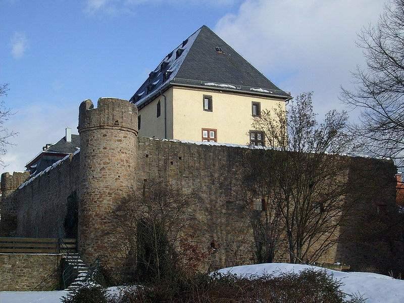 Burg Rockenberg - Westen