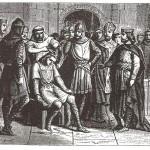 Der letzte merowingische Schattenkönig Childerich III wird abgesetzt