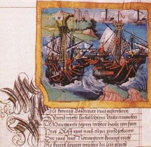 Seekrieg zwischen König Albrecht III von Schweden und Königin Margareta von Dänemark
