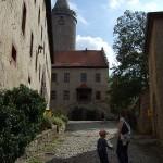 Leuchtenburg - Innenhof