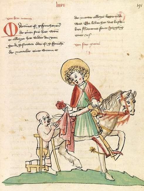 Sankt Martin - Elsaessische Legenda Aurea