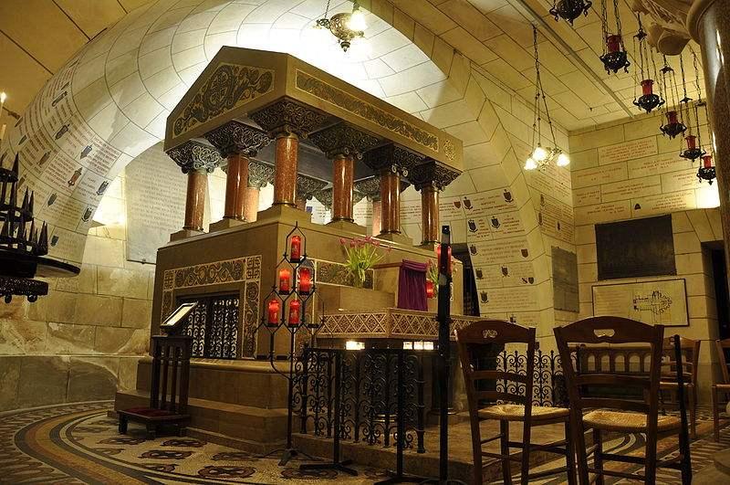 Sankt Martin - Grab in Saint-Martin de Tours