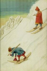 Wie das Skifahren erfunden wurde