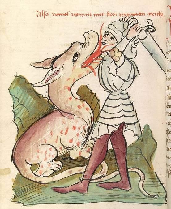 Vom Prinzen, der auszog, einen Drachen zu erschlagen
