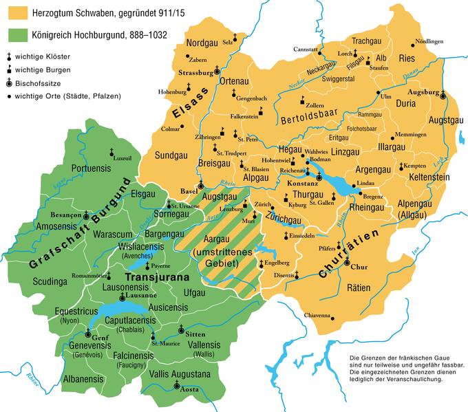 Burchard II., Herzog von Alemannien