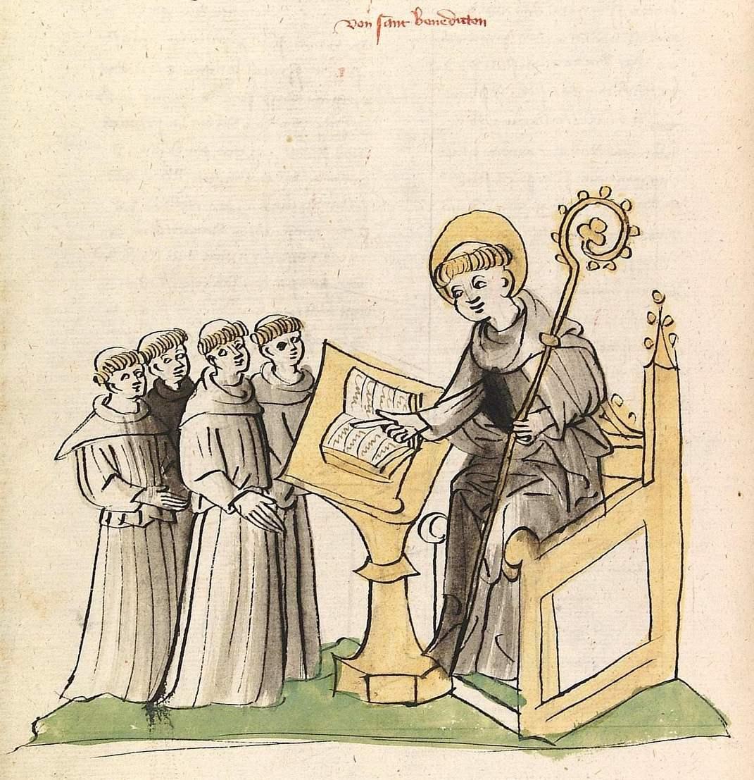 Frühes Mittelalter – Ora et labora – Bete und arbeite – Klostergründungen (ab dem 6. Jahrhundert)