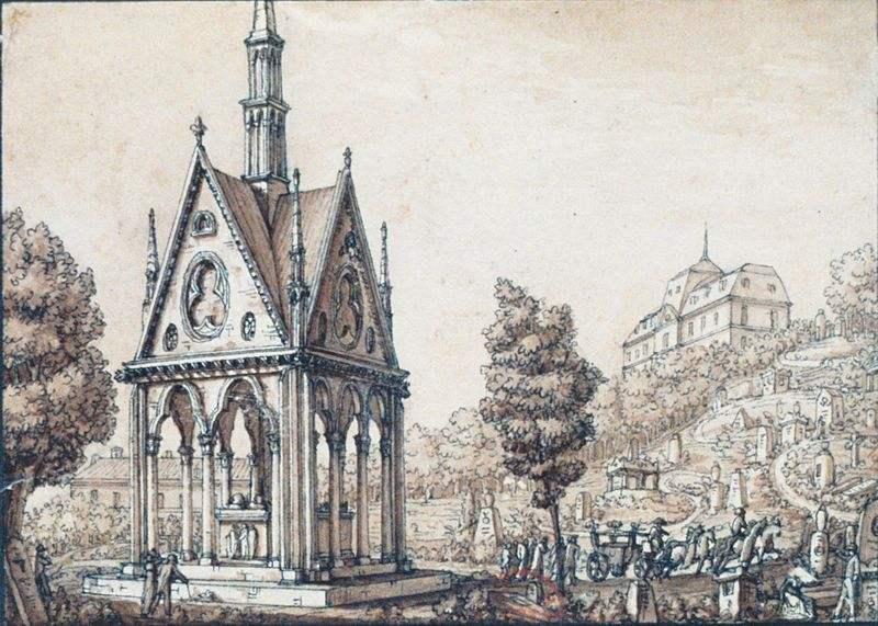 Grabmal von Abelard und Heloise