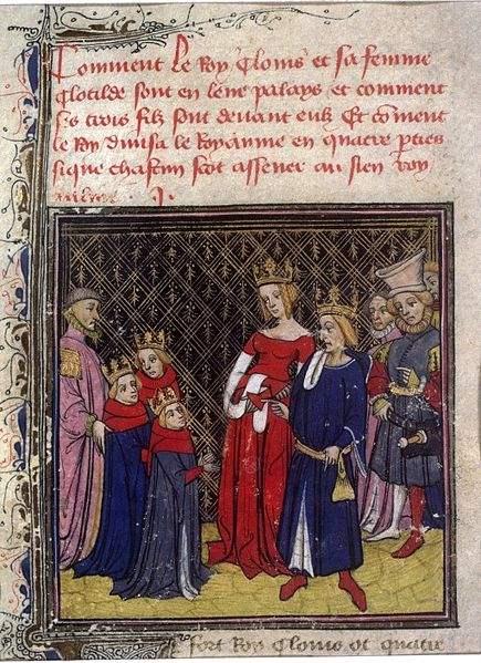 Chlodwigs I. und seine Familie