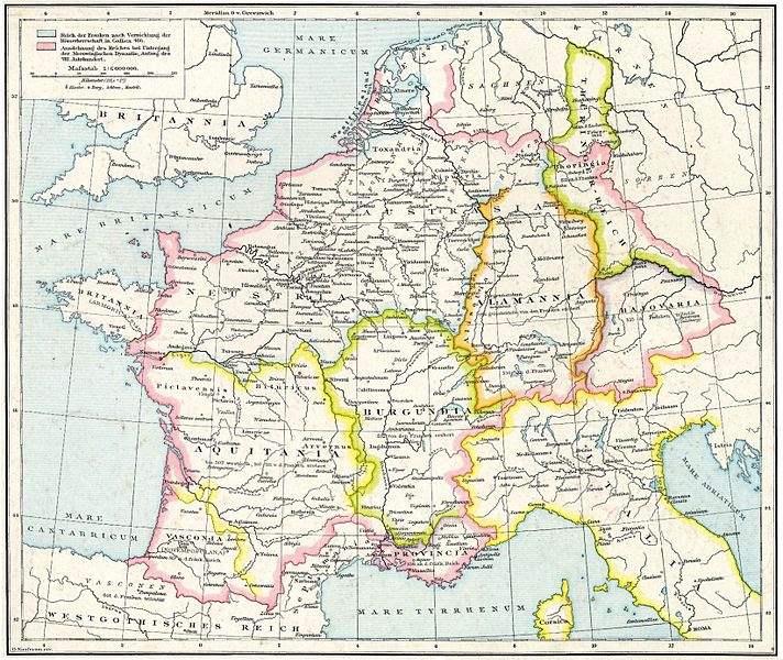 Frankenreich unter den Merowingern