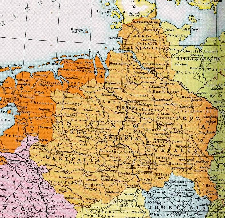 Otto der Erlauchte, Herzog von Sachsen
