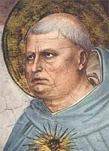 Thomas von Aquin,  Bild von Fra Angelico (1395 – 1455) Quelle: Wikipedia