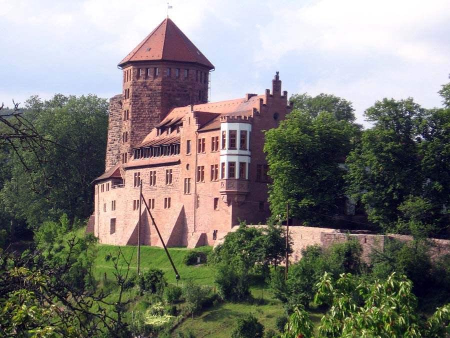 Burg Rieneck - Aussenansicht